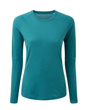 Rab Forge Merino LS Baselayer Tee Women's