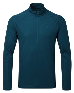 Rab Pulse LS Zip Top Tee