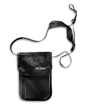Tatonka Skin Neck Pouch Neck Wallet (Black)