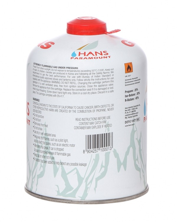 Hans Paramount Alpine Gas Canister (450 gm)