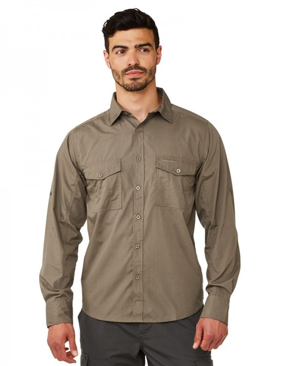 Craghoppers Men's Kiwi Long-Sleeved Shirt