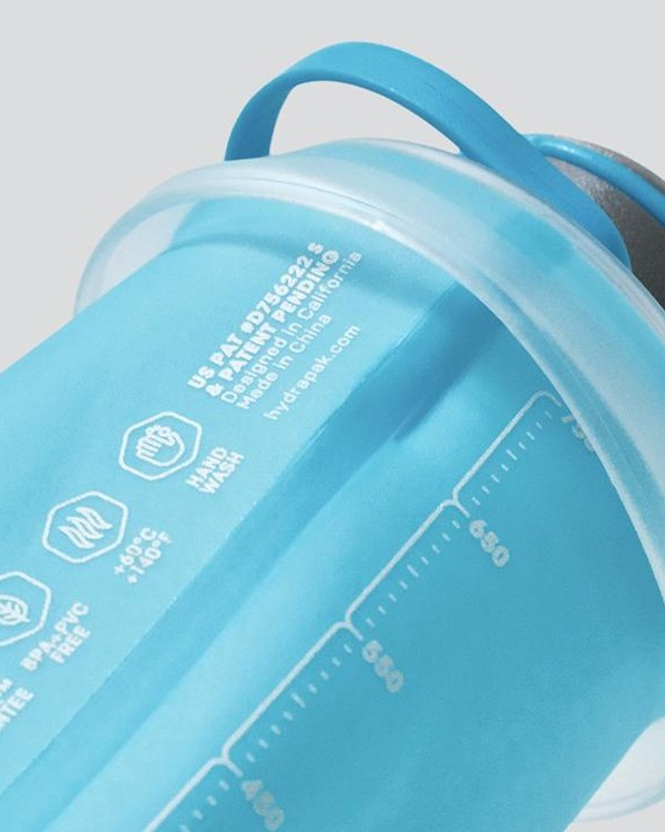 HydraPak Stash 750 ML Compressible On-The-Go Hydration