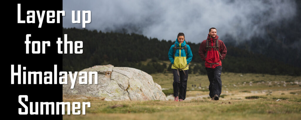 How to properly layer for Summer Mountain Recreation